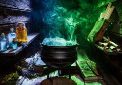 witch's cauldron